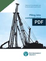 Piling in Contaminated Sites