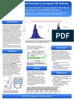 EDTA_2010_Prevalence of FO Un European HD Patients