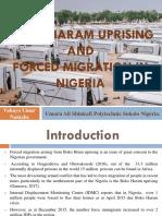 Boko Harm Presentation on Forced Migration