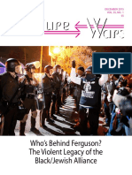 Who's Behind Ferguson? The Violent Legacy of the Black/Jewish Alliance - Dr. E Micheal Jones - Culture Wars - December 2015