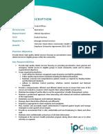 Position Description - Dental Officer (1)