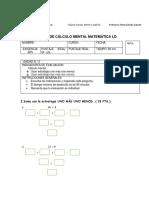Guía de Cálculo Mental Matemática Ld