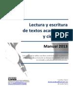 CLERICE 2013 GROS ACADÉMICOS MBBLectura y Escritura de Textos Academicos