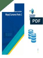 Clase 13 - MySQL Cursores Parte 2