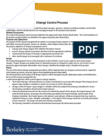 Change Control Process Aa