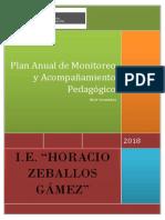 358168824 Plan de Monitoreo y Acompanamiento Pedagogico 2017 Docx