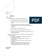 Programa de Latin i 2017