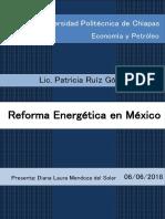 Reforma Energetica (Trabajo de Investigacion 3)
