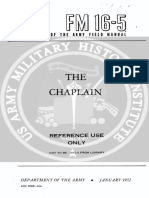FM 16-5 1952 The Chaplain