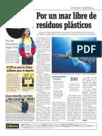 Por Un Mar Libre de Residuos Plásticos