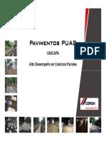 Pavimentos Unicapa Taller RD CEMEX ADOCEM