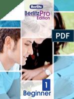 Berlitz Pro Edition English Beginner 1