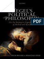 BROOKS - Hegel's Political Philosophy - On the Normative Significance of Method and System (2017)