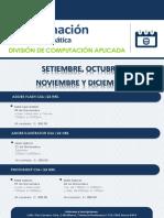 Calendario DCA - 2015