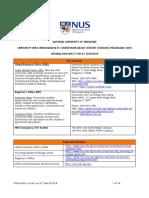 NUS SEP Information Sheet