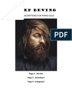 Joep Beving - 3 Transcriptions for Piano Solo