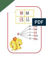 fichas lenguaje para recortar Pl, Bl, CL, Pr, Br, Dr, Tr,