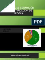 Métodos de Estimación y Cuantificación de Biogás[1]
