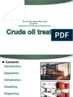 Crude Oil Treatment