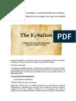 Analizando El Kybalion