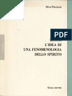 PÖGGELER - Hegel. L'idea di una fenomenologia dello spirito (1986).pdf