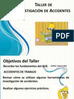 Presentacion Sobre Investigacion de Accidentes