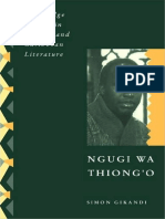 [Cambridge Studies in African and Caribbean Literature] Simon Gikandi - Ngugi wa Thiong'o (2009, Cambridge University Press).pdf