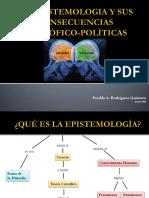 Epistemologia y Sus Consecuencias Filosofico-Politicas