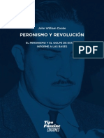 Cooke, John William - Peronismo y Revolución