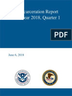 Alien Incarceration Report 2018 First Quarter