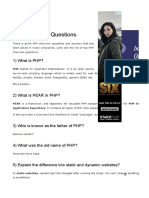 PHP Interview Questions - Javatpoint