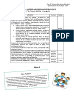 1. Sesiones de Tutoria - 1ro y 2do de Primaria