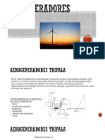 aerogeneradores tripala