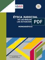 Ética Judicial. De las reglas a las actuaciones - Varios.pdf