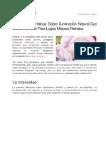 Las 3 Caracteristicas Sobre Iluminacion Natural Que Debes Conocer Para Lograr Mejores Retratos 161539