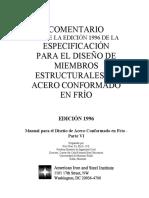 Comentarios AISI 1996