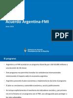 El Acuerdo Stand By entre Argentina y el FMI