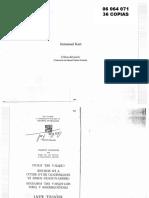 06064071 KANT - Crítica del juicio. Trad. García Morrente, Ed. Porrúa. Pp 209-260 y 276-287..pdf
