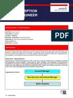 Job Description - Boiler SDX- HUK