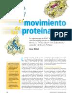 movimiento de las proteìnas.pdf