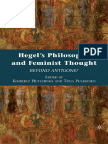 HUTCHINGS - Hegel's Philosophy and Feminist Thought - Beyond Antigone (2010)