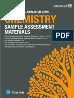 International a Level Chemistry SAMs