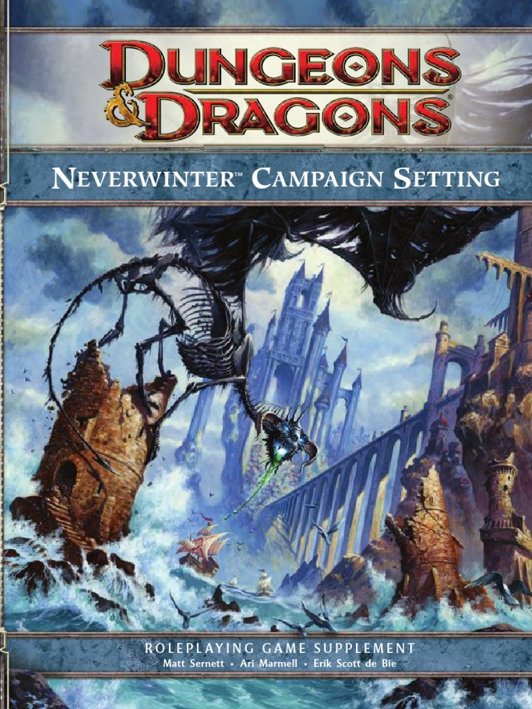 Neverwinter Campaign Setting pdf | Wizards Of The Coast | Forgotten