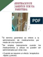 Administracion Parenteral