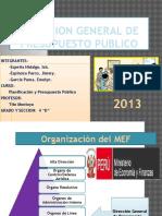 Direccion General de Presupuesto Publico-planificacion