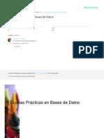 Buenas Practicas en Bases de Datos