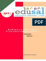 MANUAL  ORIENTACIÓN PRIMERO BASICO