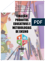 Cartilha Produtos Educativos e Metodologiasa de Ensino