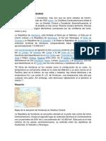 Geografía de Honduras