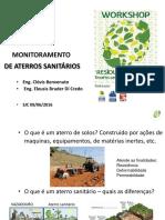 MONITORAMENTO DE ATERRO SANITARIO